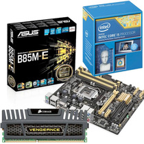 Kit Placa Mãe Asus B85m-e + Intel Core I5 4440 + 8gb Corsair