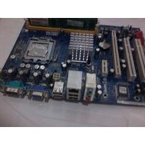 Placa Mãe Phitronics Pn73pvs-m Intel Lga 775 Ddr2