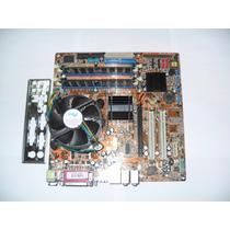 Placa Mãe Asus P5gd1-vm 775 + Proc 3.2ghz 2gb Memória