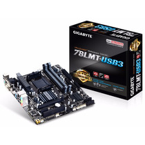 Placa Mãe Amd Gigabyte 78lmt-usb3 Am3+ Rev6.0 Pronta Entrega