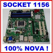 Placa Mae Socket 1156 Ddr3 I3 I5 I7 1° Geração Com Espelho