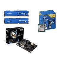 Kit Intel Core I7 4790k + Placa Asus Z97-k + 16gb Kingston