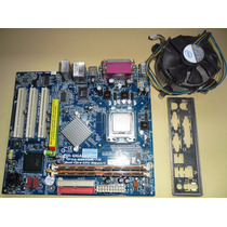 Kit Gigabyte Ga-8i865gme-775 Com Pentiun D E 2 Gb De Memória