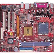 Placa-mãe 775 Pc-chips P21g Ddr1 Agp S/v/r Nova Sem Uso
