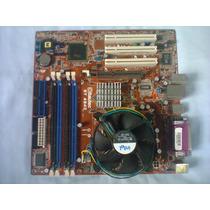 Kit Placa-mãe Itautec St-4342 + Pentium 4 Ht 631 + Cooler