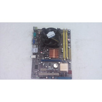 Kit Placa Mãe Asus P5kpl-am Se Socket 775 Ddr 2