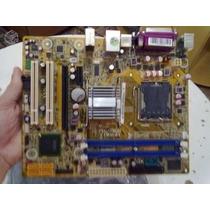 Placa-mãe Lga775 Ipm41+1gb Ddr2+ Proc. E5700 +espelho+coller