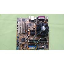 Placa Mãe Asus P5s800-vm 775 + Proces.p4 3.0gh + 2gb Ddr 400