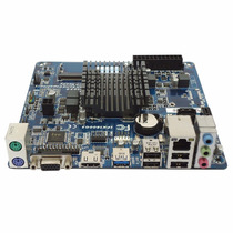 Placa Mãe Fanless Mini Itx Pcware Ipx1800g2 Cpu Dual Core