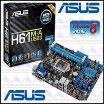 Kit Asus H61m-a + Dual Core 3.0 Ghz 2030 + 8gb De Memória