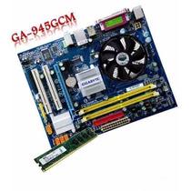 Kit Placa Mãe Lga775 + Cpu Pentium Dual Core 2180 + Mem. 1gb