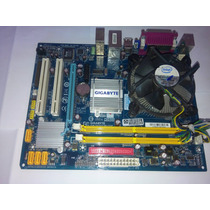 Placa Mãe Ga-945gcm-s2c 775 Ddr2 + Core 2 Duo E7500 2.93ghz