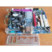 Placa Core 2 Duo E7200 2.53ghz Modelo G31t-m7