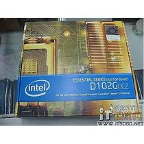 Placa Intel On-board D102ggc C/ Pci-e E Ddr Nova Na Caixa