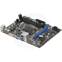 Placa Mae Intel 1155p Msi H61m-e22/w8 Som/video/rede/ddr3