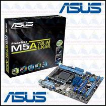Placa Mãe Asus M5a78l-m Lx/br Para Socket Am3/a - Compre Já!