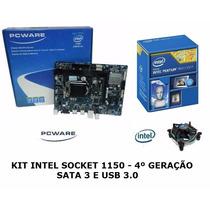 Kit Placa Mae Ipmh81g1 1150 + Intel Pentium Dual Core G3240