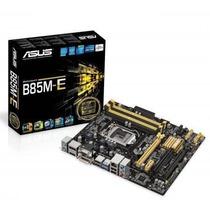 Placa-mãe Asus Micro Atx P/ Intel Lga 1150 B85m-e/br,c/ Hdmi