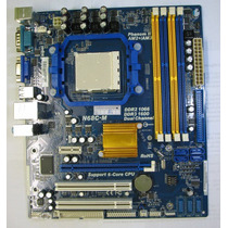 Placa Mãe Phitronics N68c-m+ Amd Athlon Le1640 +memorias