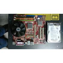 Kit Placa Mãe Ms-7267 Lga 775 Core 2 Duo/dual Core +hd 750gb