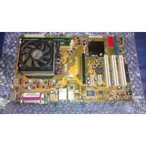 Placa Mãe Amd Socket Am2 + Processador + Memória + Hd