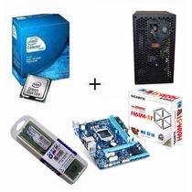 Kit Profissional - Placa Mae + Processador + Memoria + Fonte