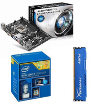 Kit Asus H81m-c/br + Intel® I5 4440 Core 4º Ger. + 4gb Ddr3