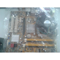 Kit Placa Mãe Asus P5gc-vm Pro