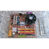 Placa Mãe Itautec - St 4261 - Usada - Com Processador