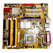Placa Mãe Asus P5e-vm Do\ Processador\ Garantia 1 Ano