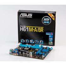 Placa Mae (intel) Asus H61m-a Lga1155