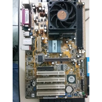 Placa Mãe Asus K8v-x Se + Processador Seprom 3000 + Cooler