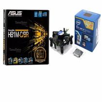 Kit Asus H81m-c/br Lga1150 + Processador Intel Core I3-4170