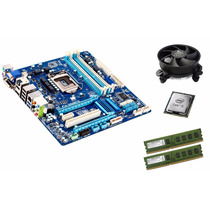 Kit Ga-q77-d2h Hdmi Vga + Core I5 3470 3.6 Ghz 8gb Ram Novo