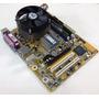 Kit Placa Mãe 775 Ddr3 Processador Core 2 Duo Memória 4gb