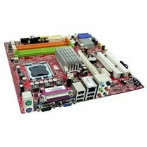 Kit Placa Mãe 775 Ddr2 Positivo Pos-miq35 + Core 2 Duo