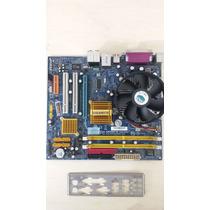 Kit Placa Mãe 775 Gigabyte Ga-945gcmx-s2+dual Core+1gbram+es