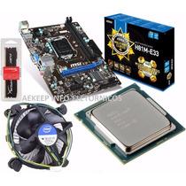 Kit Msi H81m-e33 + Intel Core I5-4460 4ª Geração + 8gb Ddr3