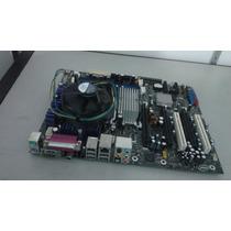 Placa Mae 775 Processador Core2duo Ddr2 Modelo E210882
