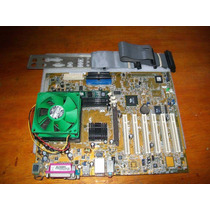 Placa Mãe Asus A7v8x-x + Sempron 1,7 Ghz + 256m