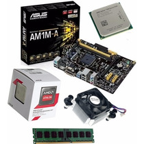 Kit Placa Asus Am1m-a/br + Amd Athlon 5150 Quad Core + 2gb
