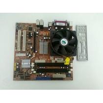 Kit Placa Mãe Itautec Core2duo 775 Memória Ddr2