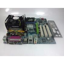 Kit Placa Mãe Ga-8s661fxmp-rz + Pentium 4 2.4 + 1gb Memoria