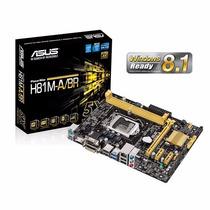 Placa Mãe Asus P/ Intel H81m-a/br Lga 1150 Usb 3.0 Micro Atx