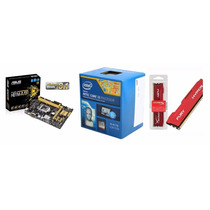 Kit Asus H81m-a/br + Intel I3-4170 + Hyper 4gb 1600mhz