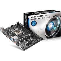 Placa Mãe H81m-hg4 Asrock Intel H81 Lga 1150 Micro Atx