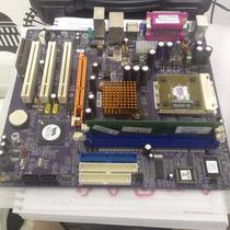 Kit Placa Mae Km400-m2 + Amd Sempron 2400+ 256mb Ddr