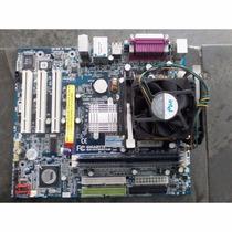 Kit Placa Mãe 478 -1gb Ddr1-processador Pentium 4 Ou Celeron