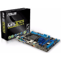 Placa Mãe Asus M5a78l-m/usb3 Am3+ Fx 140w Ddr3 2000 Top