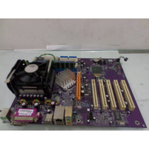 Kit Placa-mãe Intel 865pe-a 478 Ddr + P4 2.4ghz + 512 Mb Ram